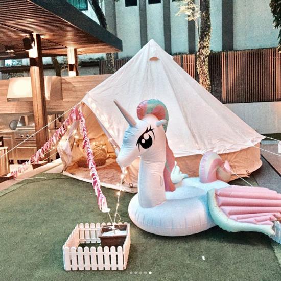 Ca sĩ Hong Kong tổ chức tiệc sinh nhật cho con gái trong biệt thự 12 triệu USD - 5
