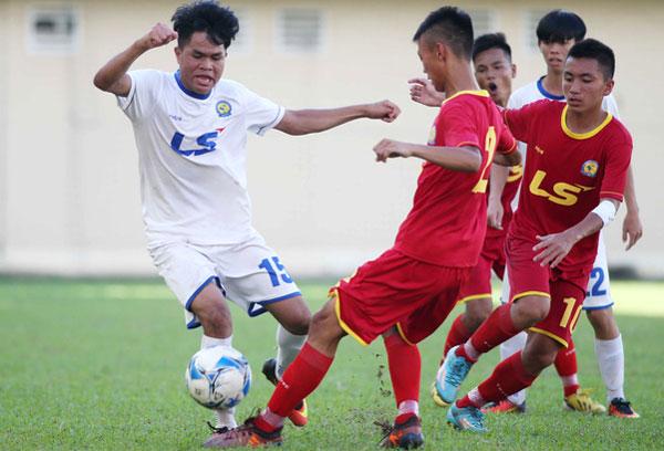 Giải U17 quốc gia quan trọng trong hệ thống đào tạo trẻ. Ảnh: VTV.