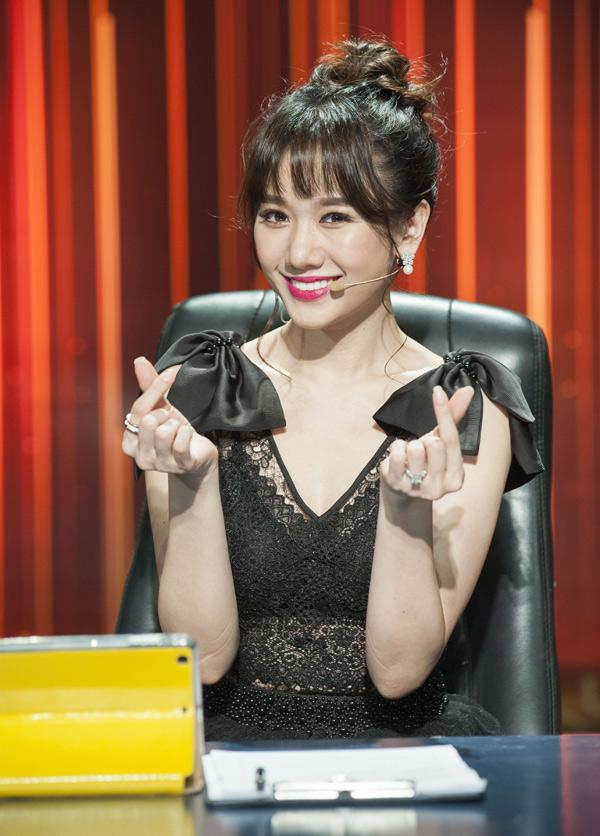 Bà xã của Trấn Thành xinh tươi rạng rỡ ở tuổi 33.