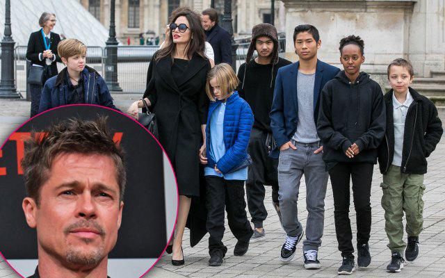 Brad Pitt không muốn các con tham gia phần 2 Maleficent cùng mẹ.