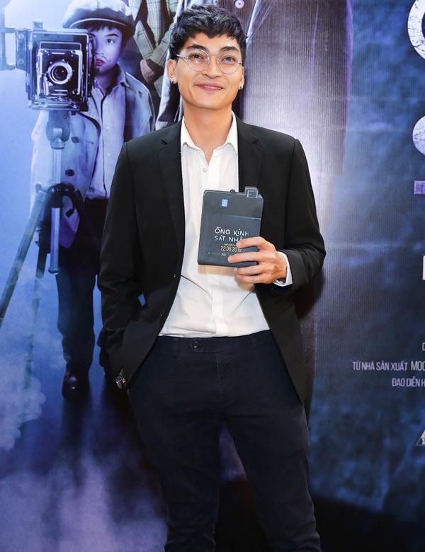 Khương Ngọc góp mặt trong bộ phim hình sự, trinh thám của đạo diễn Nguyễn Hữu Hoàng.