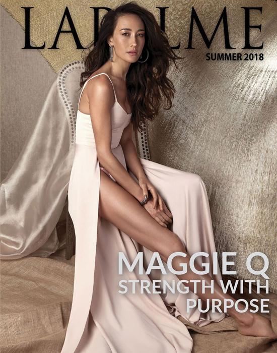 Maggie Q trên tạp chí LaPalme mùa hè.
