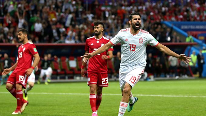 Diego Costa có bàn thắng thứ ba tại World Cup 2018. Ảnh: FIFA.