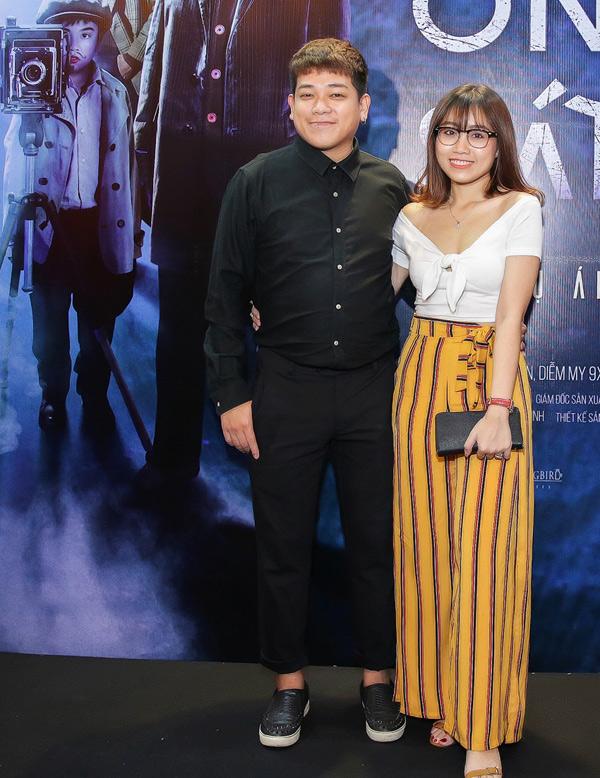 Diễn viên Phan Tân đi sự kiện cùng vợ sắp cưới.