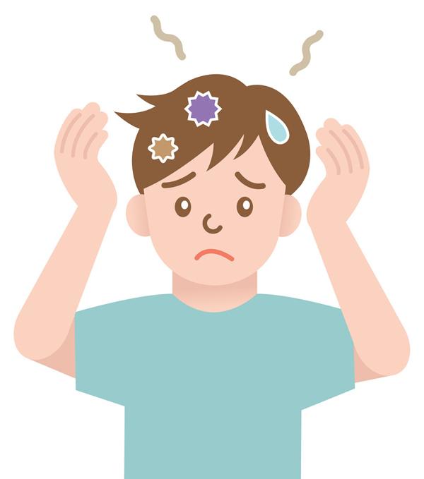 Da đầu có mùi như tã bẩn Các chuyên gia da liễu gọi đây là Hội chứng tóc có mùi hôi. Ngay cả khi bạn gội đầu mỗi ngày, da đầu vẫn tiết ra mồ hôi khó chịu.