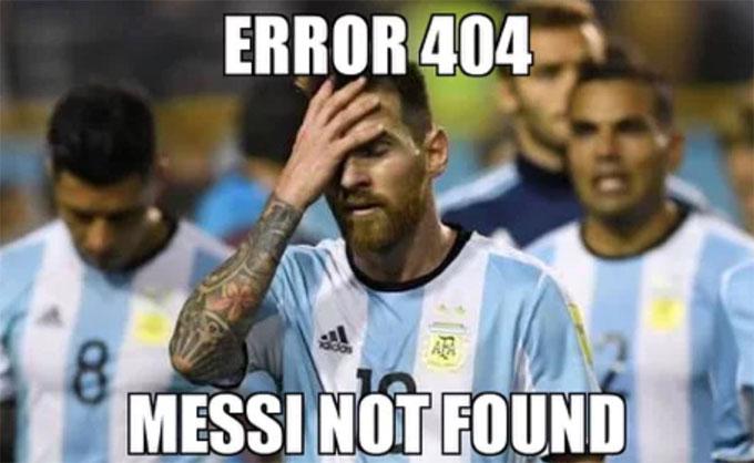 Messi là ngôi sao được kỳ vọng nhất của Argentina ở giải đấu. Tuy vậy, siêu sao khoác áo Barca thi đấu mờ nhạt, có số lần chạm bóng ít ỏi và tịt ngòi trong trận đấu quyết định thua Croatia.
