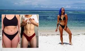 Bị bạn trai chê béo, 9X người Anh giảm 13 kg sau 6 tháng
