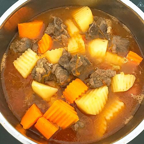 Bò hầm đậu trắng - 3