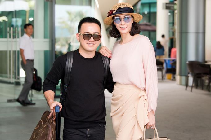 Nhà thiết kế Lê Thanh Hòa cũngra Quy Nhơn làm giám khảo cùng Hà Kiều Anh.