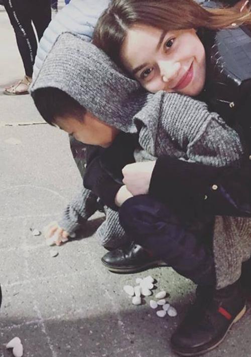 Hồ Ngọc Hà đăng ảnh Subeo nhân ngày sinh nhật 8 tuổi của con trai.