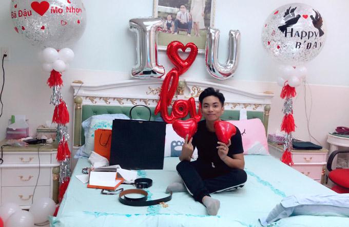 Khánh Thi trốn viện về nhà để tổ chức sinh nhật bất ngờ cho chồng - 2