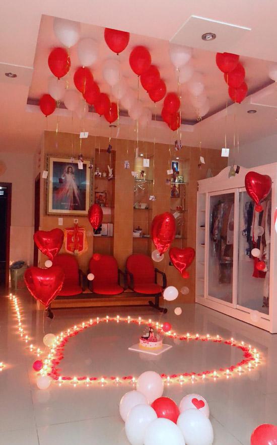 Khánh Thi trốn viện về nhà để tổ chức sinh nhật bất ngờ cho chồng - 4