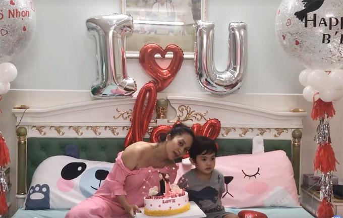 Khánh Thi trốn viện về nhà để tổ chức sinh nhật bất ngờ cho chồng - 6