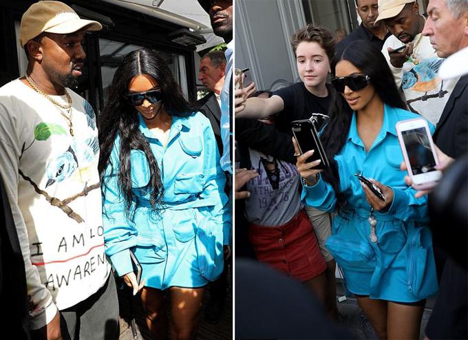 Trước đây, ngôi sao truyền hình thực tế Mỹ cũng từng bị một fan cuồng lao đến ôm khi đi dự show thời trang. Sau những sự cố này, cô đã phải thuê thêm nhiều vệ sĩ tinh nhuệ để bảo vệ mình và gia đình.