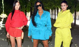 Dàn sao diện đồ 'bảy sắc cầu vồng' ở show Louis Vuitton