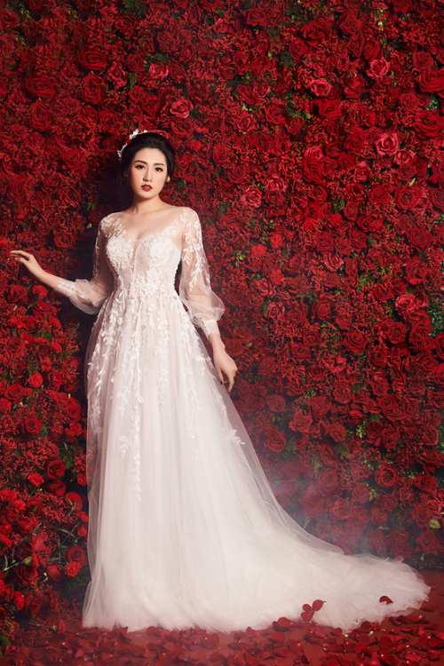 Những lần Á hậu Tú Anh hóa thân thành cô dâu trước khi lên xe hoa (chờ) - 4