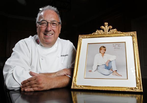 Ông Darren - cựu đầu bếp của Công nương Diana. Ảnh: NVCC.