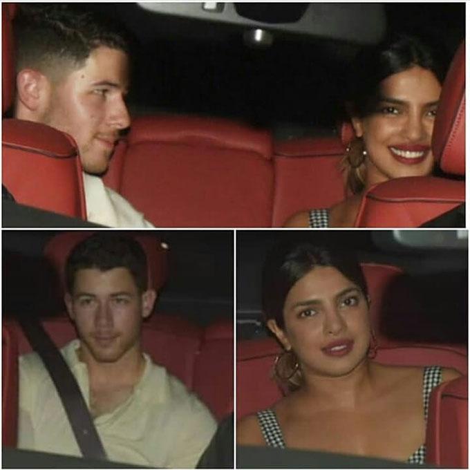 Nick trông khá hồi hộp trên xe khi chuẩn bị đến gặp mẹ của bạn gái.