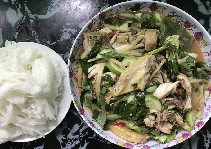 Tiệm gỏi măng gà hương vị như nhà làm ở Thanh Hóa