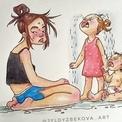 Bộ ảnh lột tả chân thực cuộc sống rối bời của bà mẹ hai con