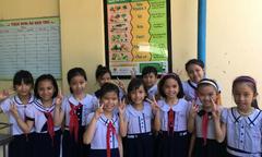 53 trường tiểu học Quảng Ngãi xây dựng thực đơn cân bằng dinh dưỡng