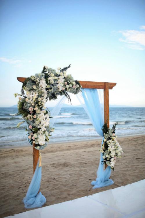 Đám cưới xanh baby đẹp như giấc mơ bên biển Hội An - 3