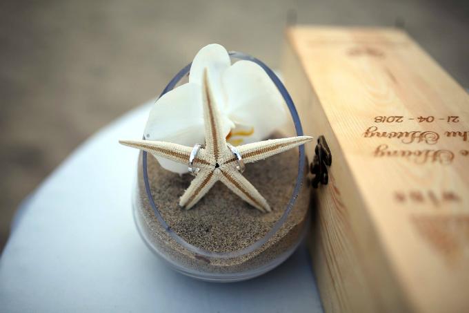 Đám cưới xanh baby đẹp như giấc mơ bên biển Hội An - 2