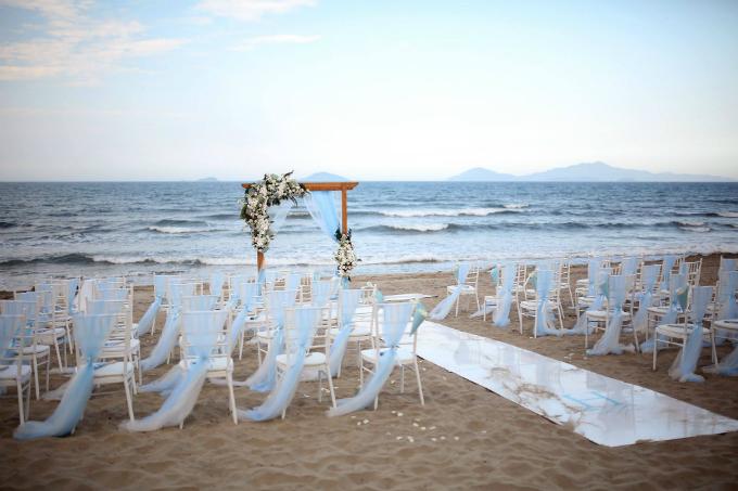 Đám cưới xanh baby đẹp như giấc mơ bên biển Hội An - 6