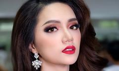 Hoa hậu Hương Giang tham dự đêm giao lưu 'Nhan sắc mới - Khởi đầu mới'