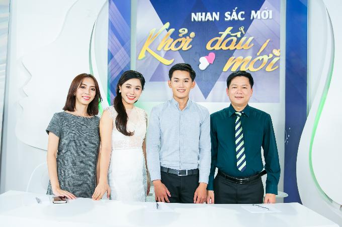 Hoa hậu Hương Giang làm giám khảo khách mời Nhan sắc mới, khởi đầu mới - 1