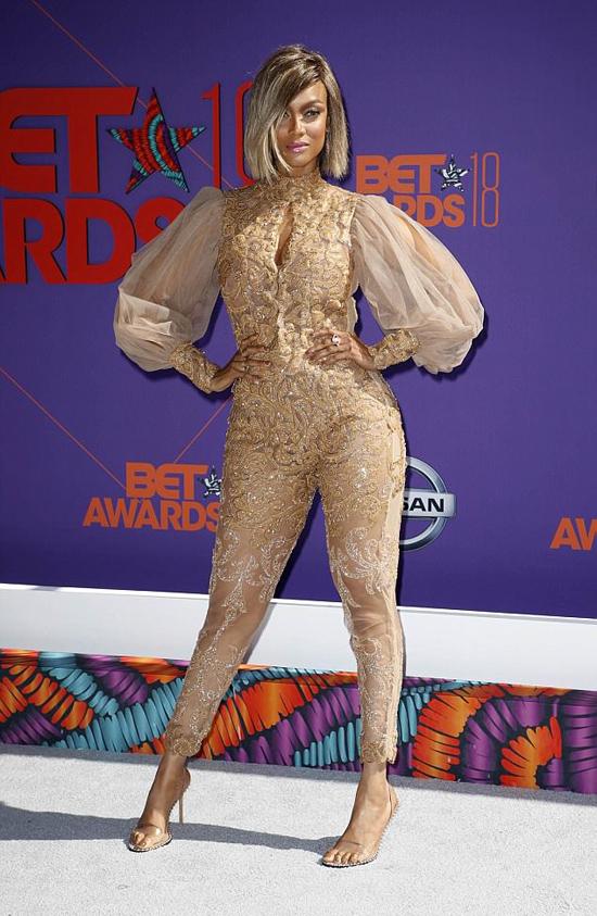 Người mẫu Tyra Banks.