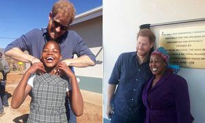 Hoàng tử Harry một mình tới Nam Phi mở trung tâm dành cho trẻ em