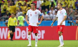 Thua đậm Colombia, Ba Lan sớm bị loại khỏi World Cup