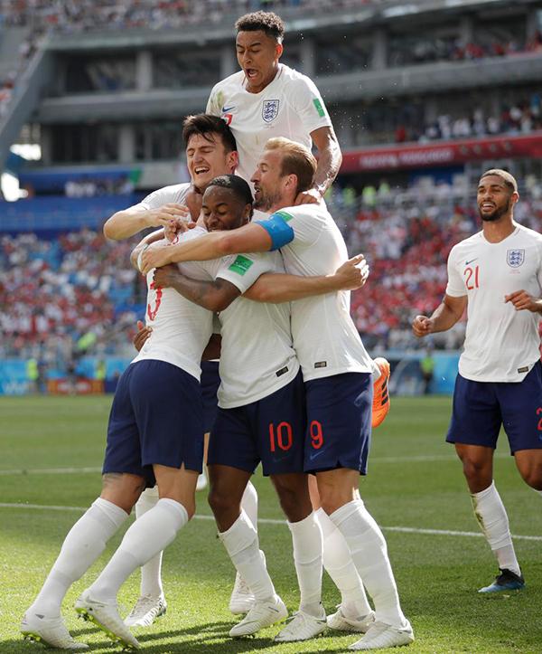 Tối 24/6, đội tuyển Anh giành chiến thắng 6-1 trước Panama ở lượt trận thứ hai bảng G World Cup 2018. Kết quả này giúp Tam sư cùng với đội tuyển Bỉ sớm giành vé vào vòng knockout sau hai trân toàn thắng.