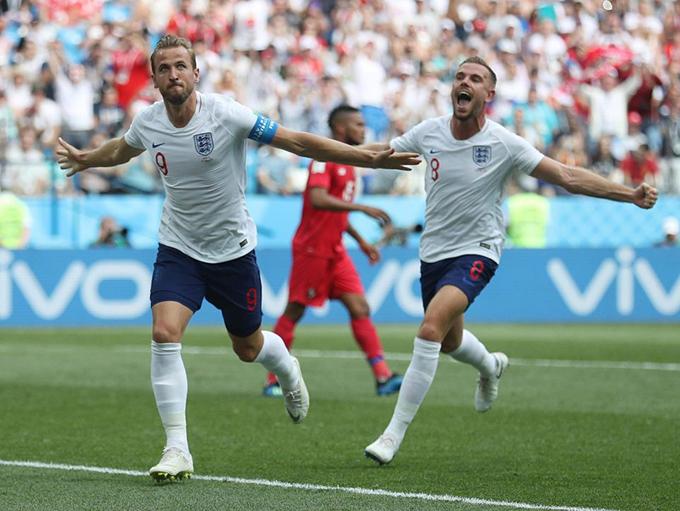 Kane vươn lên dẫn đầu danh sách ghi bàn tại World Cup 2018 với5 bàn thắng, nhiều hơn C. Ronaldo và Lukaku một bàn.