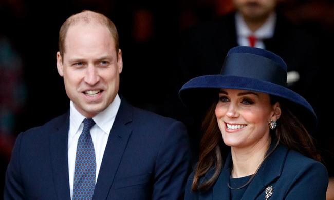 Hoàng tử William tiết lộ Kate buồn rầukhông được đến Jordan cùng chồng. Ảnh: Kensington Palace.