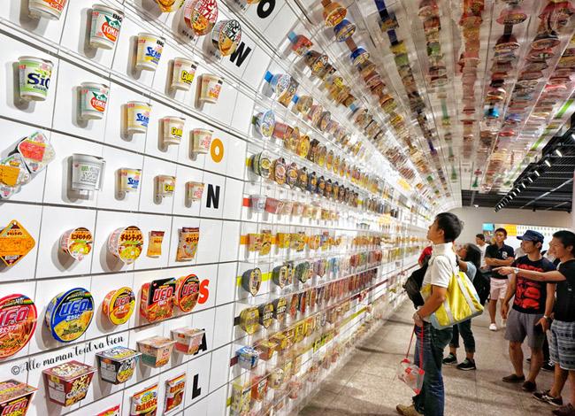 Bảo tàng mì gói Momofuka Ando tại Osaka, Nhật Bản. Ảnh:Cupnoodles Museum.