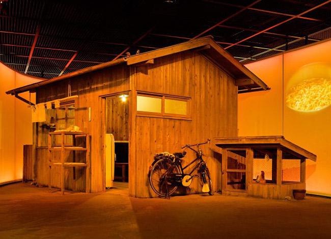 Căn nhà nơi ông Momofuka Audo tìm ra công thức chế biến mì gói. Ảnh: Cupnoodles Museum.