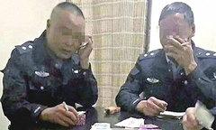 Nhân viên quản lý đô thị Trung Quốc đánh bạc trong giờ làm