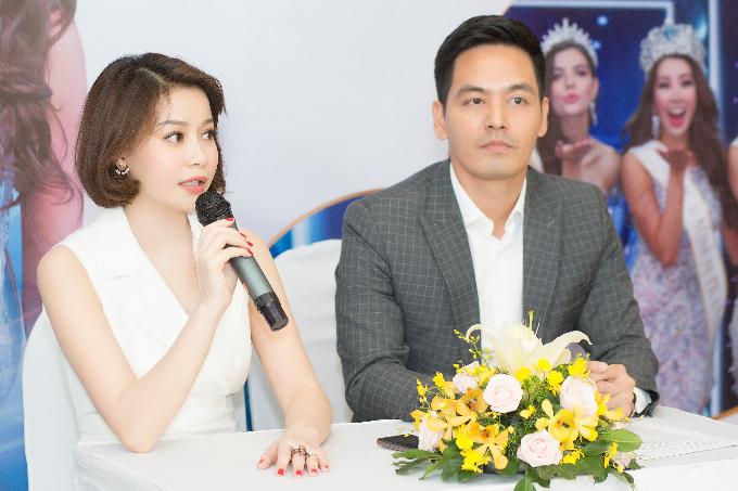 MC Phanh Anh đồng hành cùng Hải Dương trong việc tuyển chọn thí sinh.