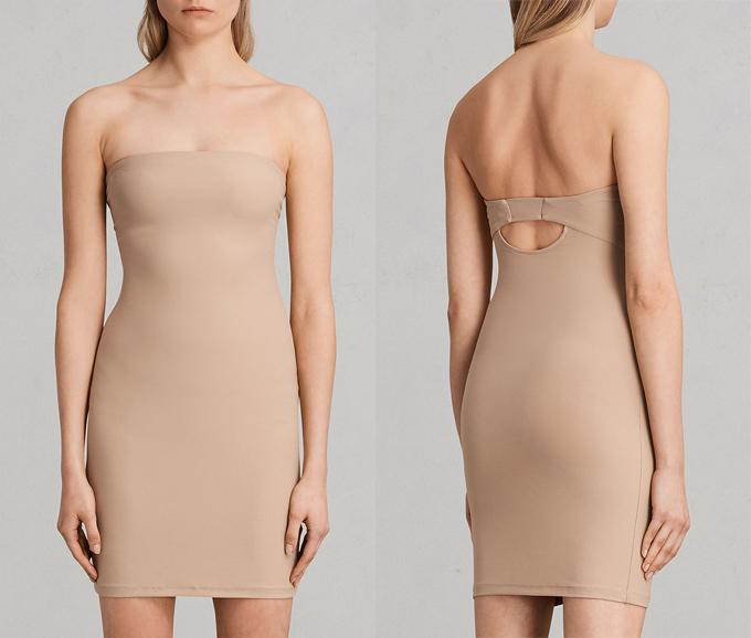 Ngoài ra, phái đẹp còn có thể cân nhắc mẫu shapewear dạng váy quây ngắn, dùng bên trong những bộ đầm ôm sát.