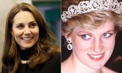 Kate có thể được phong Vương phi giống Diana sau khi Nữ hoàng qua đời