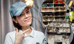 Bộ sưu tập hàng trăm món phụ kiện đắt tiền của Kiều Thanh