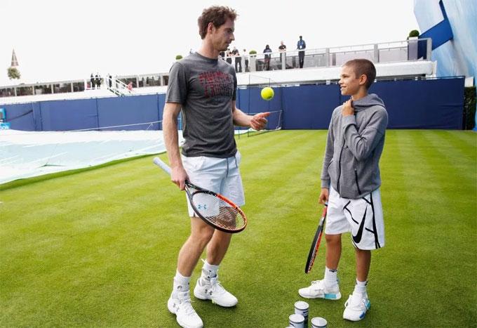 Vic thậm chí muốn Romeo dành nhiều thời gian hơn cho tennis trong kỳ nghỉ hè.