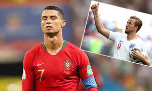 Sút hỏng 11m, C. Ronaldo bị nhiều người mỉa mai khi so sánh với Harry Kane