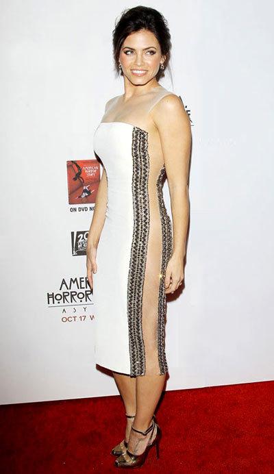 Jenna Dewan American Horror Story Asylum, Reem Acra.