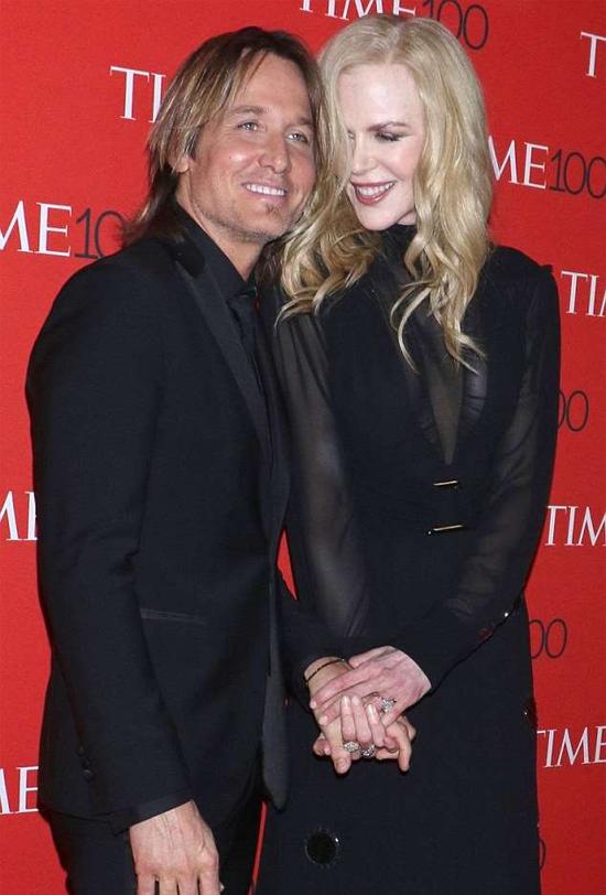 Nicole có cuộc hôn nhân bình yên và hạnh phúc bên Keith Urban.