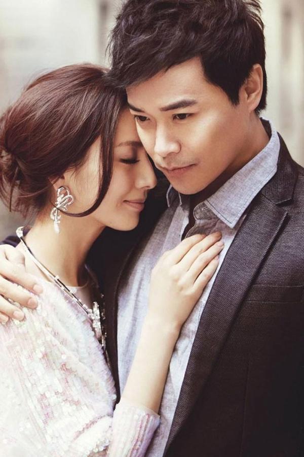Đồng Lệ Á và người chồng lăng nhăng Trần Tư Thành.