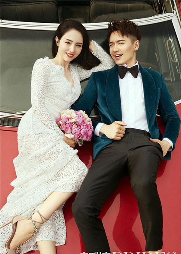 Ảnh cưới của Đổng Tuyền và Cao Vân Tường.