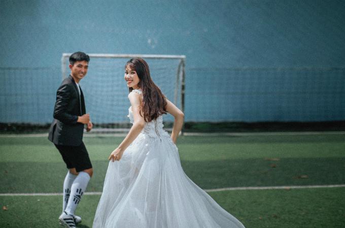 Ảnh cưới mùa World Cup khiến fan túc cầu đứng ngồi không yên - 11